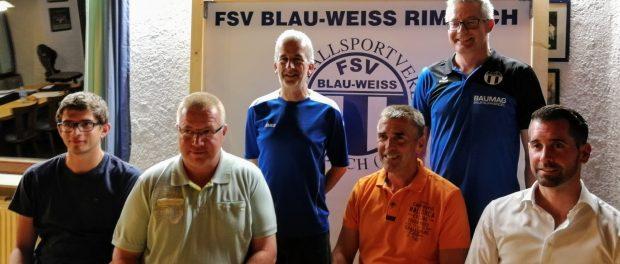 Vorstand FSV Rimbach 2017